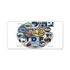 IDF Special Logo Aluminum License Plate