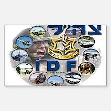 IDF Special Logo Sticker (Rectangle 10 pk)