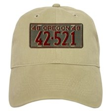 1948 Oregon License Plate Baseball Cap
