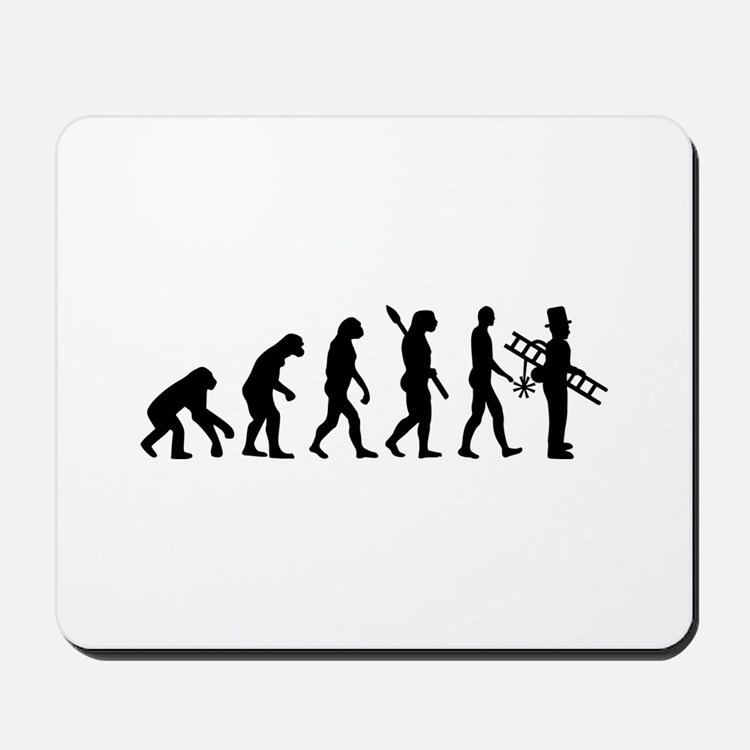 Chimney sweeper evolution Mousepad