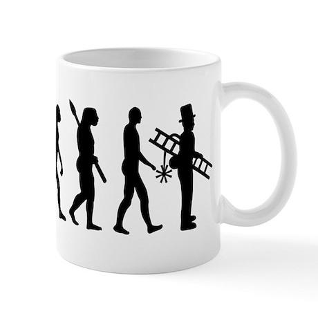 Chimney sweeper evolution Mug