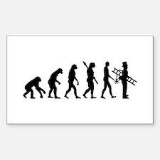 Chimney sweeper evolution Decal