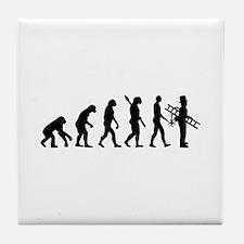 Chimney sweeper evolution Tile Coaster