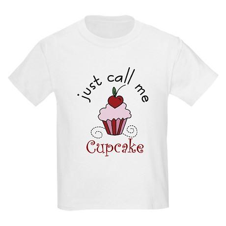 Just Call Me Cupcake Kids Light T-Shirt