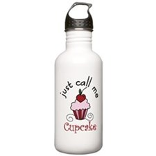 Just Call Me Cupcake Water Bottle