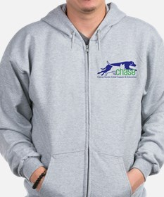 Dog and cat non profit rescue group Zip Hoodie