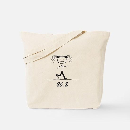 26.2 BLK Tote Bag