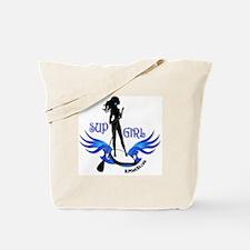 SUP GIrl Paddleboarder Tote Bag