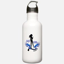 SUP GIrl Paddleboarder Water Bottle