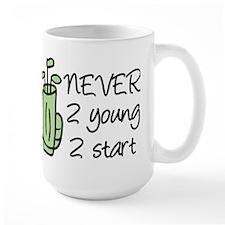 Never 2 Young Mug