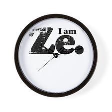 I am Ze. Wall Clock
