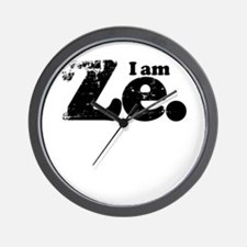 I am Ze. Wall Clock