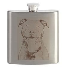 Pit Bull 16 Flask