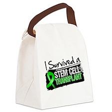 I Survived a Stem Cell Transplant Canvas Lunch Bag