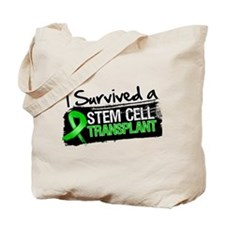 I Survived a Stem Cell Transplant Tote Bag