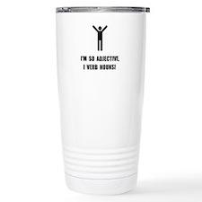 Adjective Verb Nouns Travel Mug