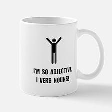 Adjective Verb Nouns Mug