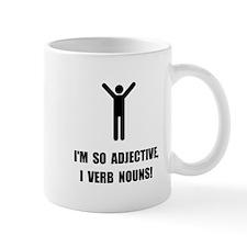 Adjective Verb Nouns Small Mug