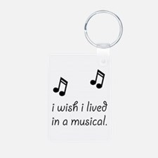 Live In Musical Keychains