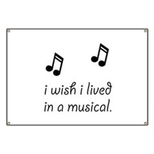Live In Musical Banner