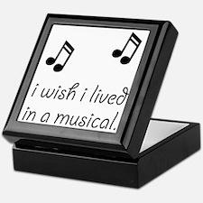 Live In Musical Keepsake Box