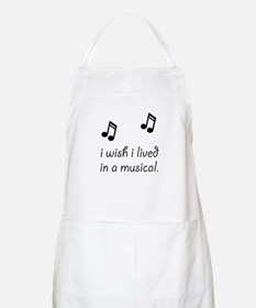 Live In Musical Apron