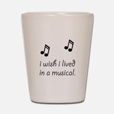Live In Musical Shot Glass
