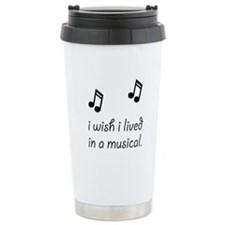 Live In Musical Travel Mug