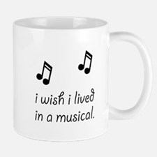 Live In Musical Small Mugs