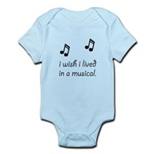 Live In Musical Infant Bodysuit