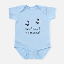 Live In Musical Infant Bodysuit
