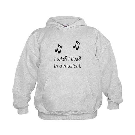Live In Musical Kids Hoodie