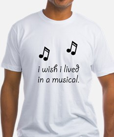 Live In Musical Shirt