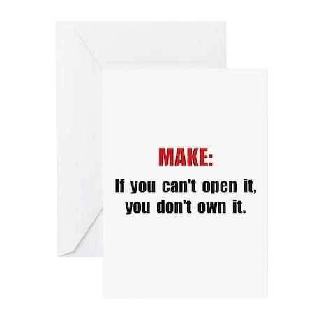Make Motto Greeting Cards (Pk of 10)