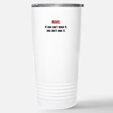 Make Motto Travel Mug