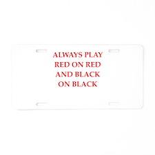 BLACK.png Aluminum License Plate