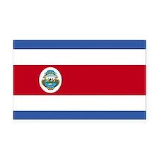 Flag of Costa Rica Rectangle Car Magnet
