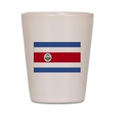 Flag of Costa Rica Shot Glass