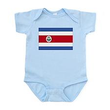 Flag of Costa Rica Infant Bodysuit