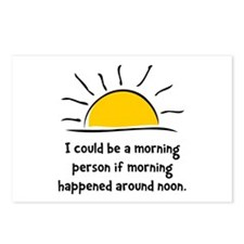 Morning Person Postcards (Package of 8)