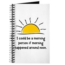 Morning Person Journal