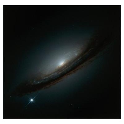 Supernova in galaxy Poster