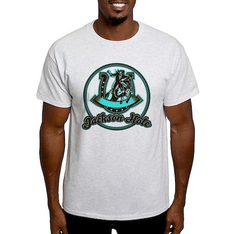 Jackson Hole Cowboy Mint Light T-Shirt