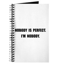 Nobody Is Perfect Journal