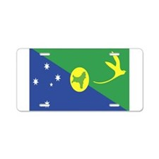 Flag of Christmas Island Aluminum License Plate