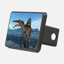 Spinosaurus dinosaur, artwork - Hitch Cover