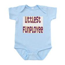Littlest Funployee Infant Creeper