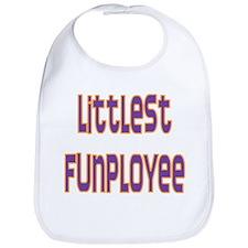 Littlest Funployee Bib
