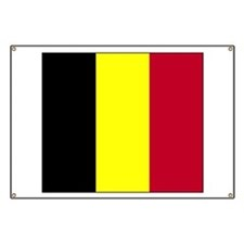 Flag of Belgium Banner