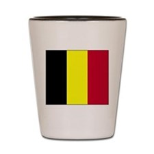 Flag of Belgium Shot Glass
